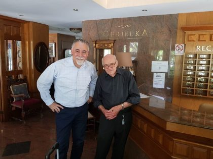 In the hotel where I was staying in Limassol, Cyprus, I had the chance to meet the owner Avgerinos Nikitas, a 91 years old Cypriot. Hrach Kalsahakian
