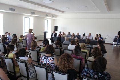 Սփյուռքի նախարարությունում տեղի ունեցավ հանդիպում Համահայկական 8-րդ կրթական խորհրդաժողովի մասնակիցների հետ