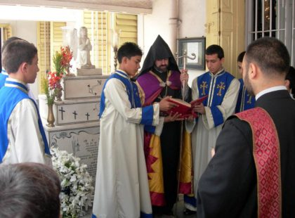 The Indian Armenian Community observes the 91st Anniversary of the Armenian Genocide