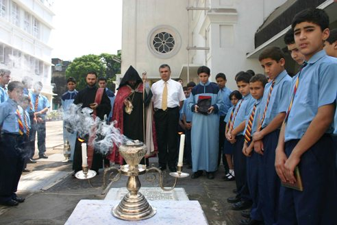 ACPA REQUIEM SERVICE AT THE GRAVE OF MOURADKHANIAN