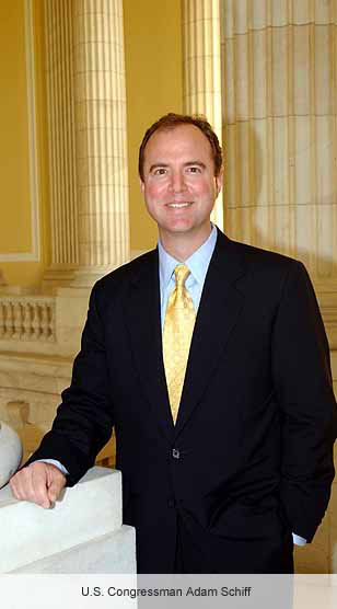 US Congressman Adam Schiff