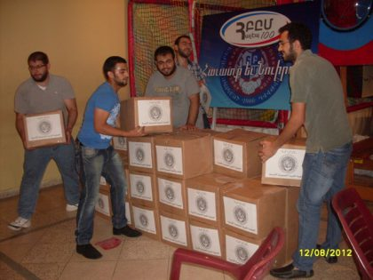 AGBU's humanitarian aid in Syria will continue