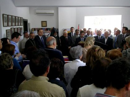 Cypriot President inaugurates AGBU Armenian Cultural Centre in Larnaca