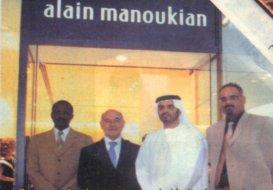 Alain Manoukian invites the Armenians of the UAE