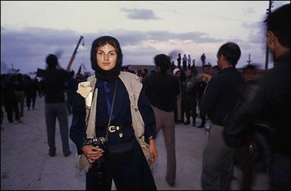 Alexandra Avakian in Iran