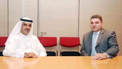 Ambassador Melikian and Al Ghurair