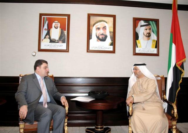 Ambassador Vahagn Melikian and Dr. Anwar Gargash