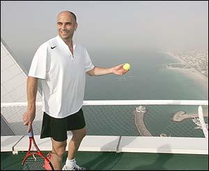 ANDRE AGASSI IN DUBAI