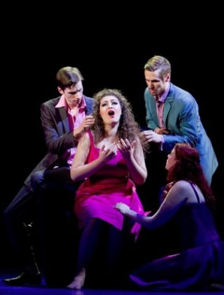 Soprano Anush Hovhannisyan with Royal Opera – London