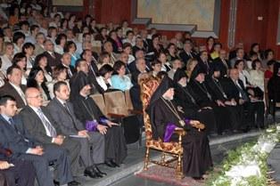 Aram Catholicos visits Aleppo