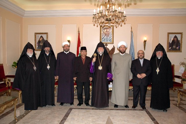 With the Grand Mufti of Syria