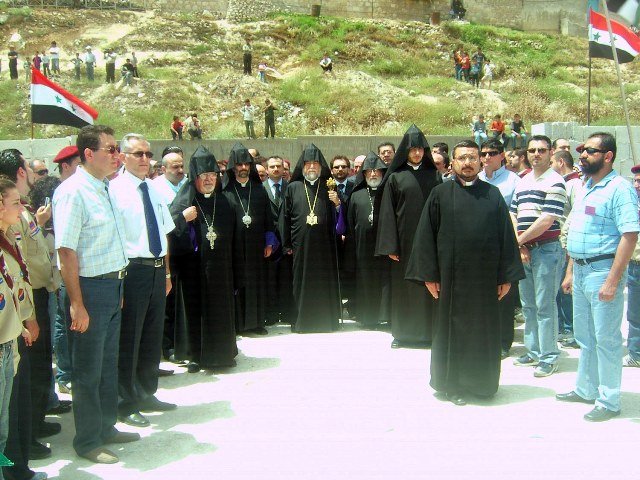 Inauguration of a new school in Aleppo