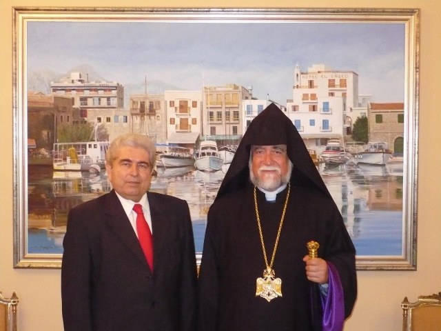 Catholicos Aram and President Christofias