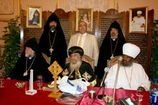 Aram Catholicos in Egypt