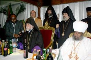 Catholicos Aram in Ethipian