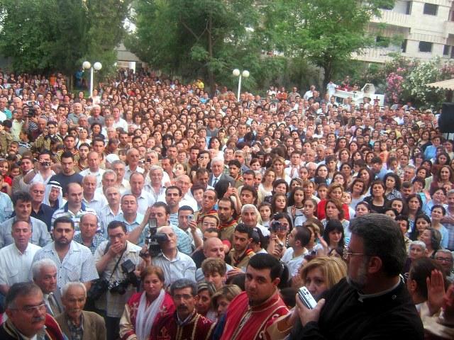 Catholicos Aram in Kamishli, Syria