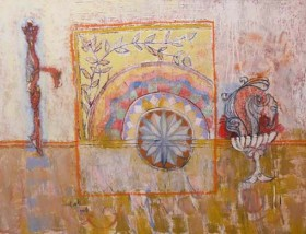 Aram Dovlat exhibits in Abu Dhabi as part of France's official year of Armenia