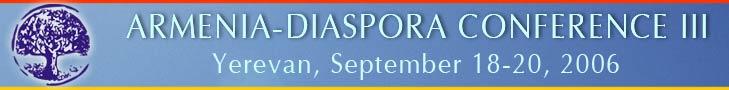 ARMENIA - DIASPORA THIRD CONFERENCE