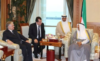 Foreign Minister Nalbandian visited Kuwait