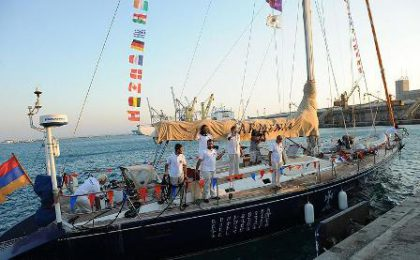 Armenia sailboat ends its around the world journey in Cyprus