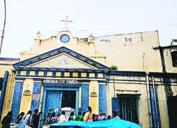Armenian church to resume service in Chennai (Madras)