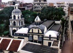 The Armenian church of the Holy Virgin Mary in Madras (Chennai)