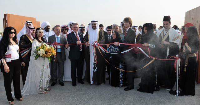 The inauguration of the Global Day Festival