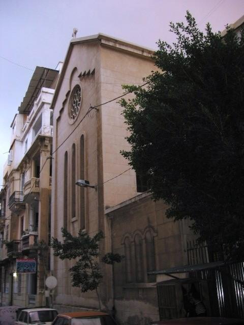 Armenian Evangelical church in Alexandria
