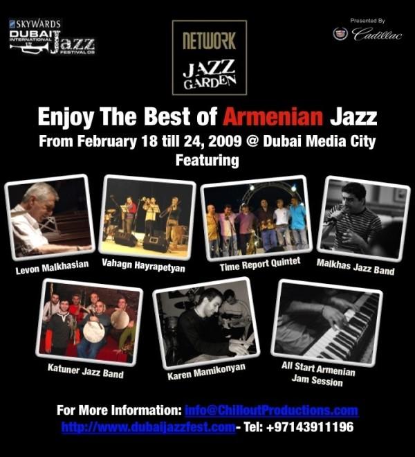 Armenian Jazz in Dubai