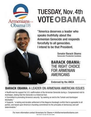 Promises, promises: Obama, Armenians and genocide