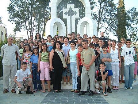 CHILDREN OF ARTSAKH IN CYPRUS 2006