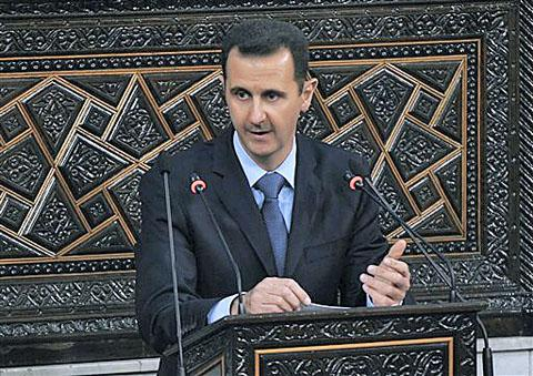 Assad during 30 March 2011 speech