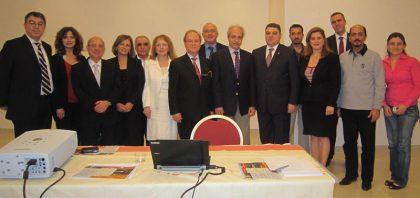 Armenian Embassy in Abu Dhabi hosts Chairman of Armenian Virtual College, Yervant Zorian