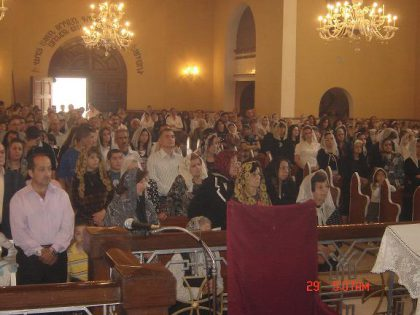 Safe Easter celebrations for the first time in Baghdad since 2003