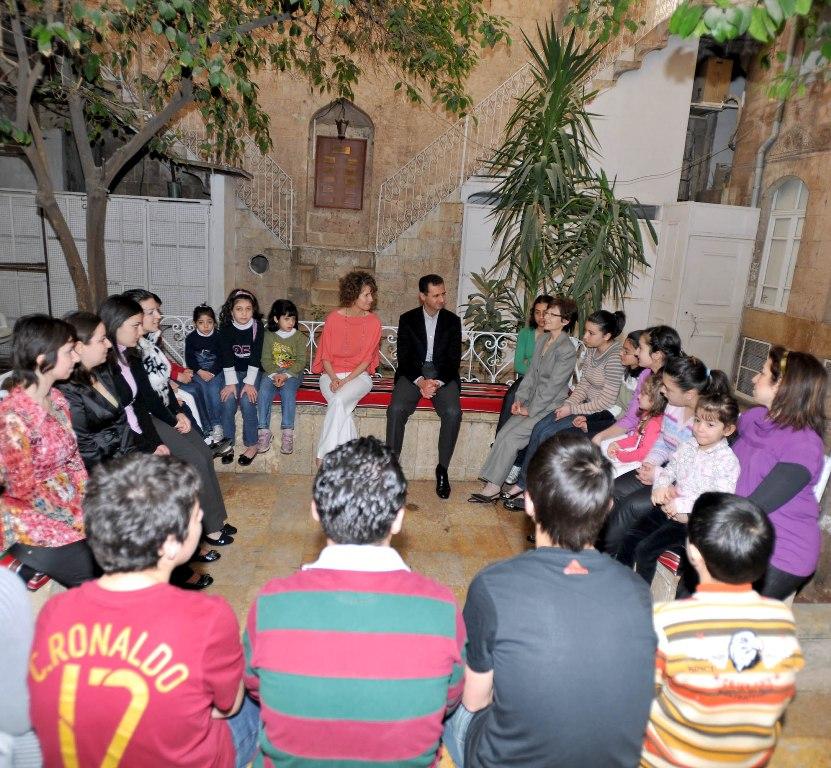 Al Assad in the Armenian Orphanage