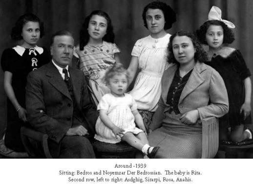 BEDROS DER BEDROSSIAN'S FAMILY