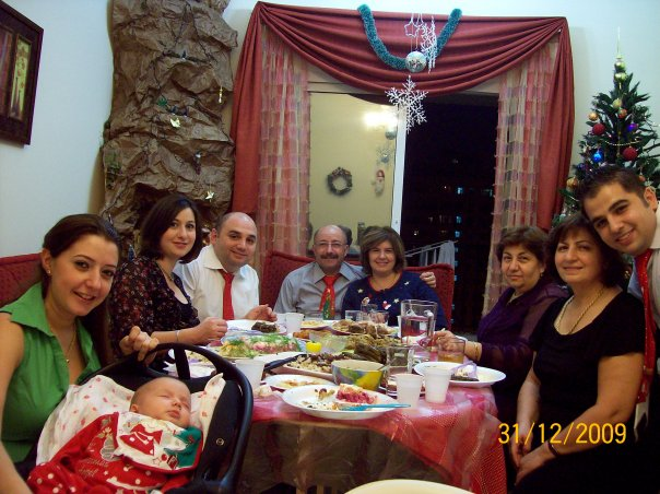 Berghoutian family's new year celebration in Dubai