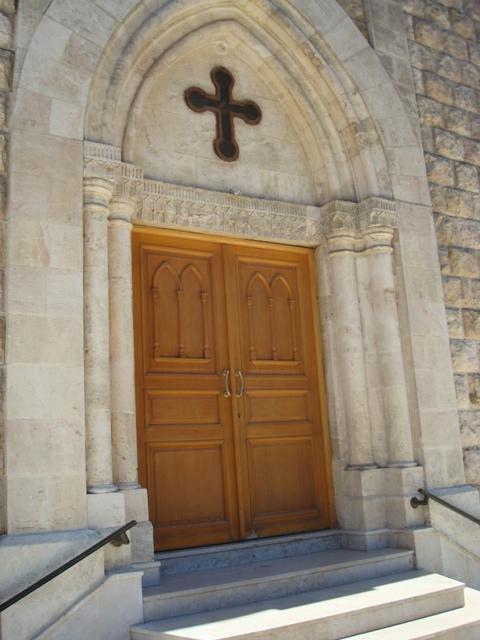 Church's main door