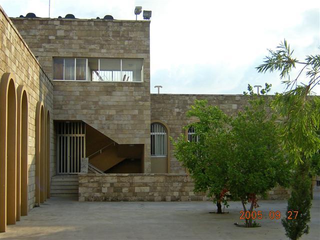 Part of the new school building in Birds' Nest