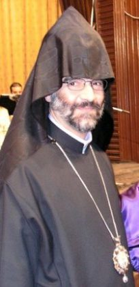 Bishop Shahan Sarkissian participates in the Middle East Synod in Vatican