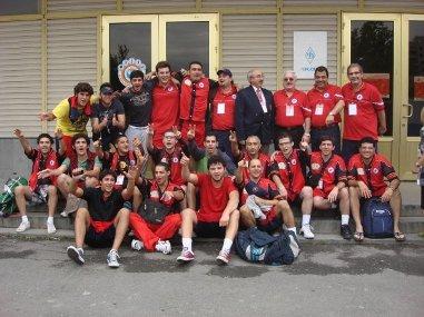 The Armeno-Egyptian basketball team players selected