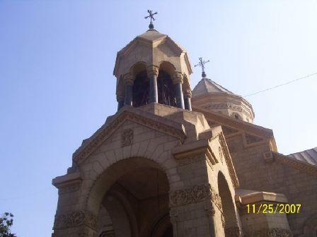 SAINT GREGORY THE ILLUMINATOR ARMENIAN CHURCH OF CAIRO