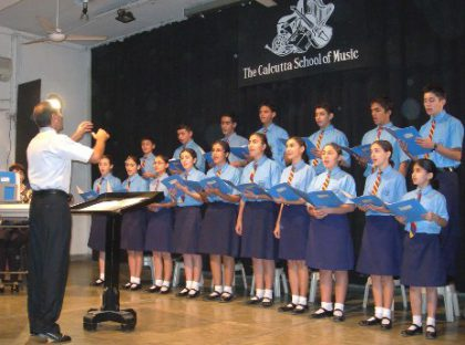 """Concert by """"Nazareth"""" Choir of the Armenian College and Philanthropic Academy in Calcutta, India"""