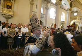CATHOLICOS KAREKIN II IN INSTANBUL