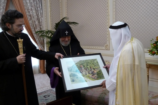 Catholicos Karekin II in Sharjah