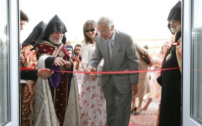 Children's home opened in Echmiadzin