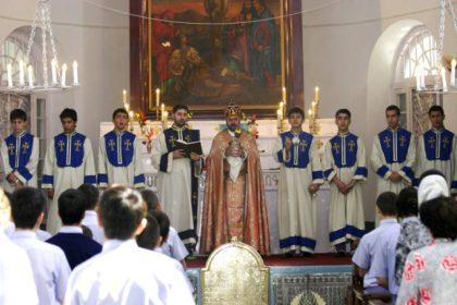 Traditional pilgrimage to Saint John the Baptist Armenian Church of Chinsurah