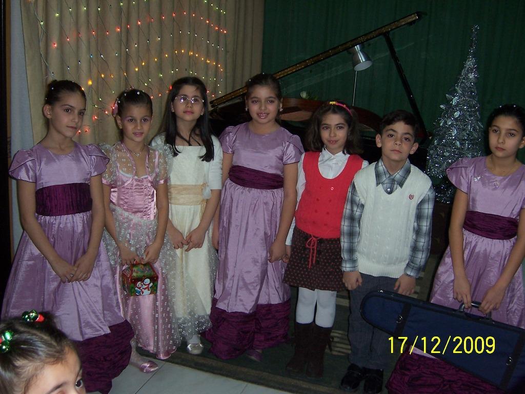 Sharjah: Armenian children in Christmas concert