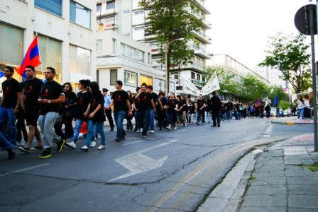 24 April 2010 march in Nicosia, Cyprus
