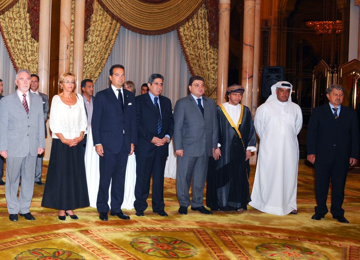 Abu Dhabi: Ambassador Vahagn Melikian congratulates Cyprus on Independence Day